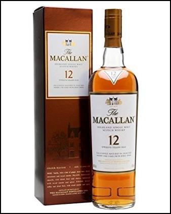 シングルモルト ウイスキー ザ マッカラン 12年の画像