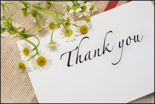 thankyouのメッセージカード画像