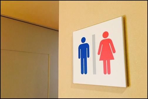 トイレのマークの画像