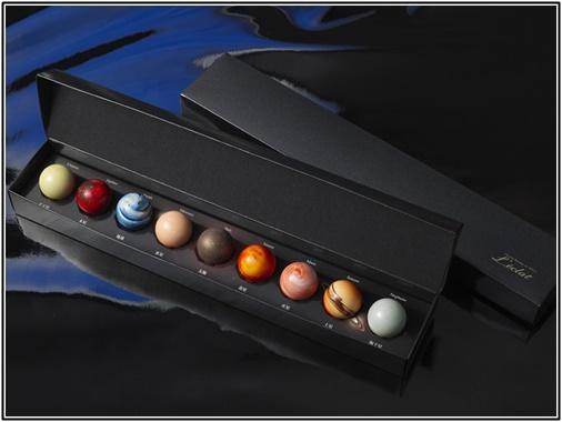 レクラ 惑星ショコラ 太陽系チョコ懐石9個の画像
