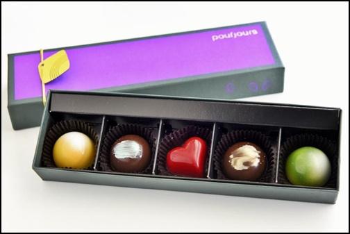プールジュール ボンボンショコラ カラー5個入の画像