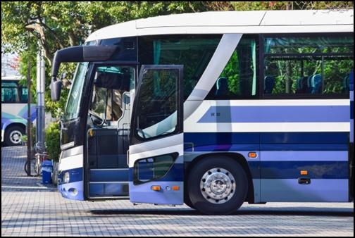 観光バスツアーの画像