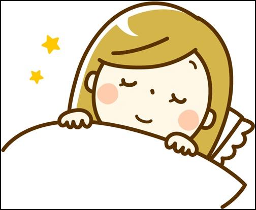 睡眠のイラスト画像