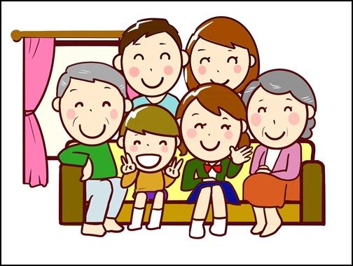 イラスト 家族写真の画像