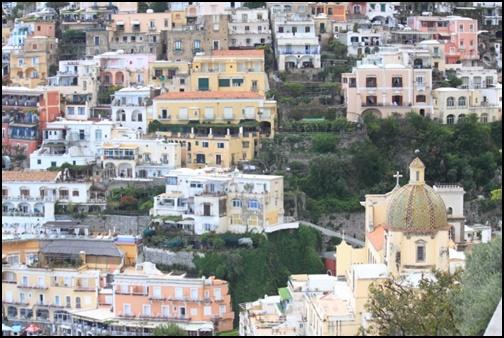 アマルフィの町の画像