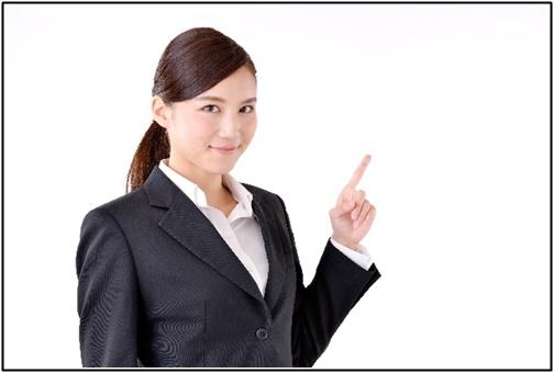 スーツを着た女性の画像