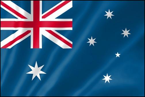 オーストラリアの国旗の画像