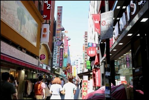 韓国の街並み画像