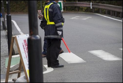 交通規制 警備員の画像
