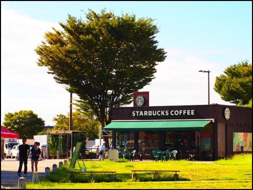 スタバ・コーヒーショップの画像
