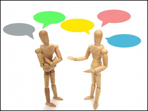 会話する人形の画像