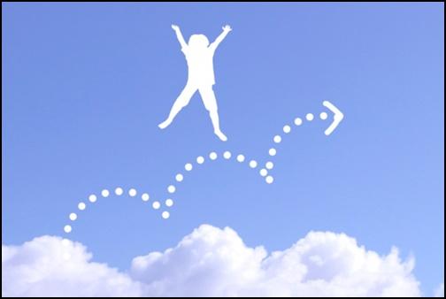 ホップステップジャンプの画像