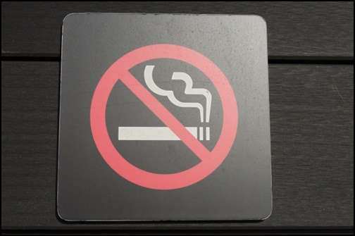 禁煙の画像