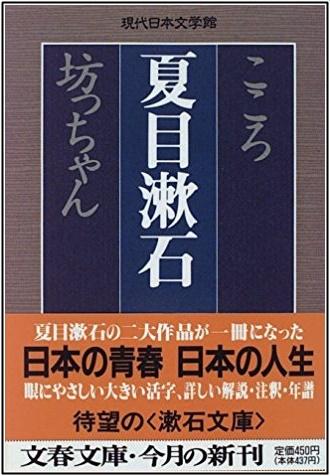 夏目漱石のこころの本の画像