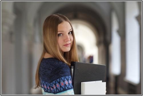 外国人大学生の画像