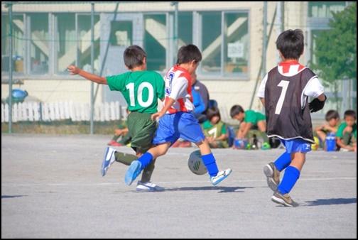 少年サッカーの画像