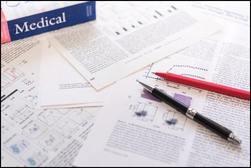 医学論文の画像