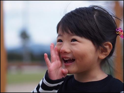 笑顔の女の子の画像
