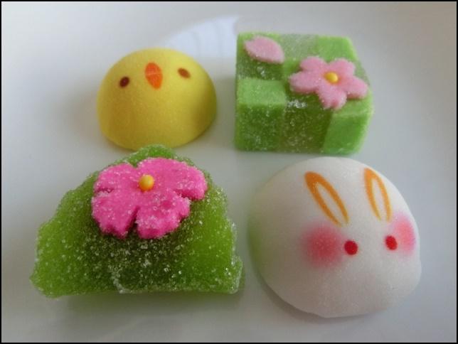 京都の和菓子の画像