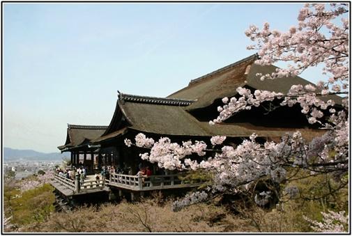 京都清水寺の画像