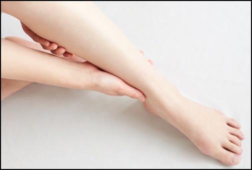 足の保湿の画像
