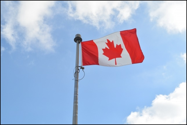 カナダ国旗の画像