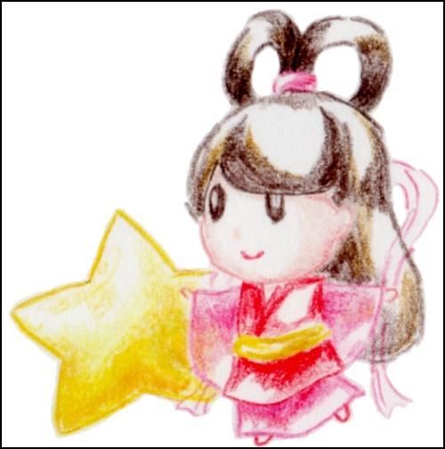 織姫のイラスト画像