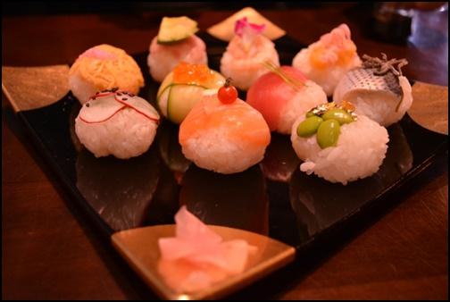 てまり寿司の画像