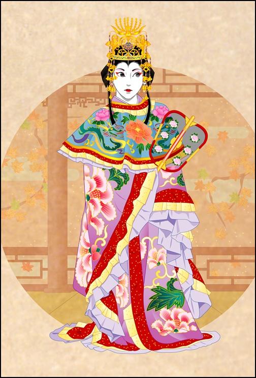 楊貴妃の面像
