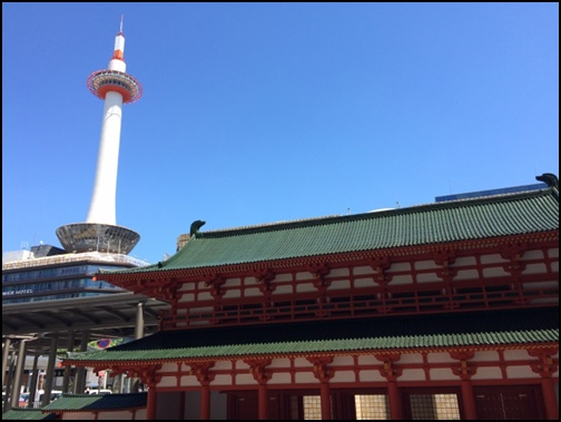 京都タワーの画像