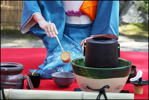 茶会の画像