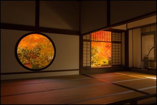 悟りの窓と迷いの窓の画像