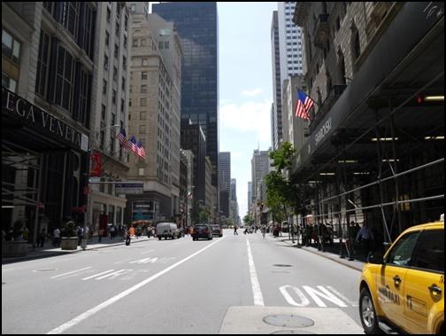 海外のタクシーの画像