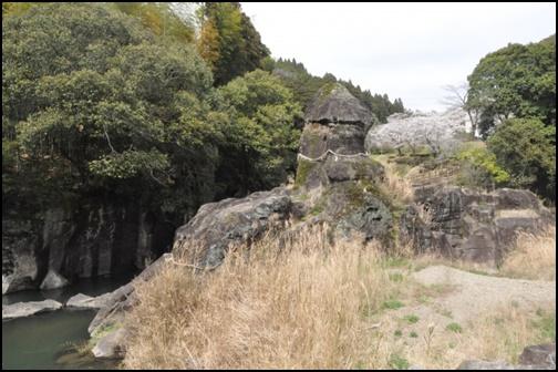 陰陽石の画像