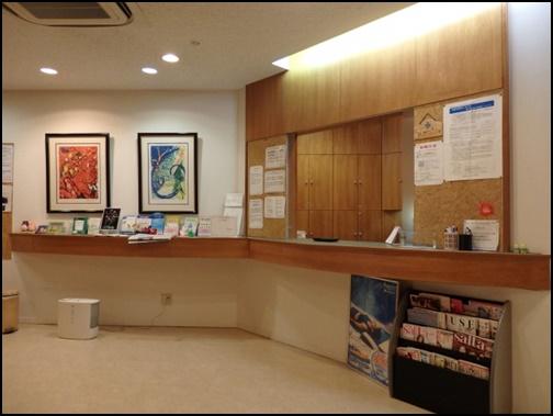 病院の受付画像