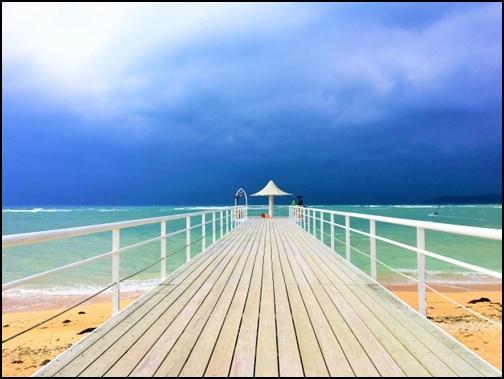フサキビーチの画像