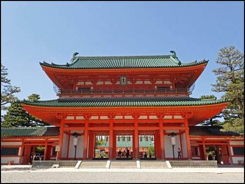 平安神宮の画像