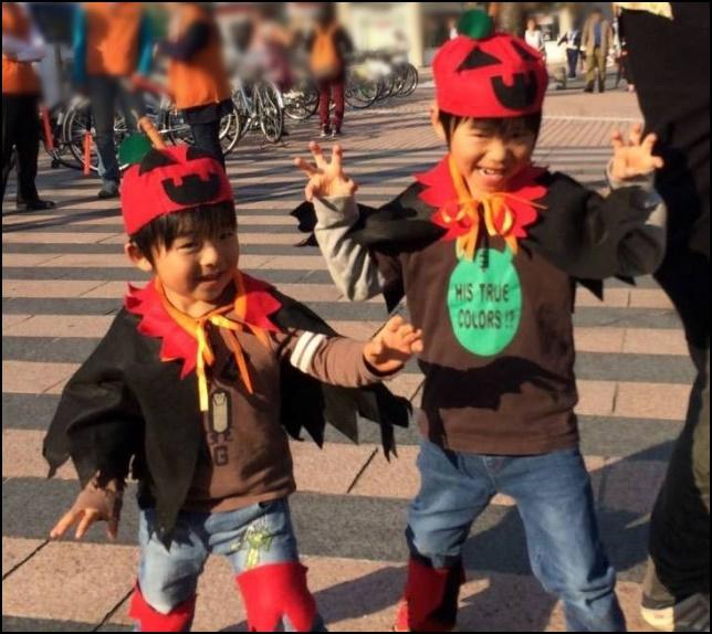 ハロウィンパレードの画像