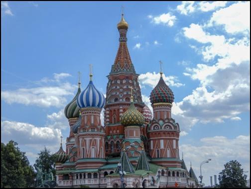 ロシアの赤の広場 聖ワシリイ大聖堂の画像