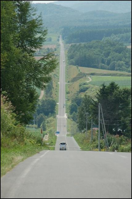 パッチワークの路の画像