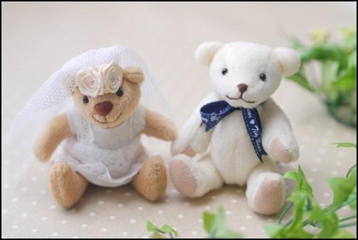 熊の人形の画像
