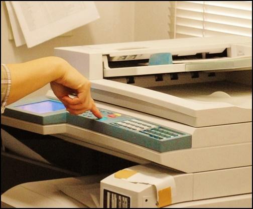 コピー機の画像