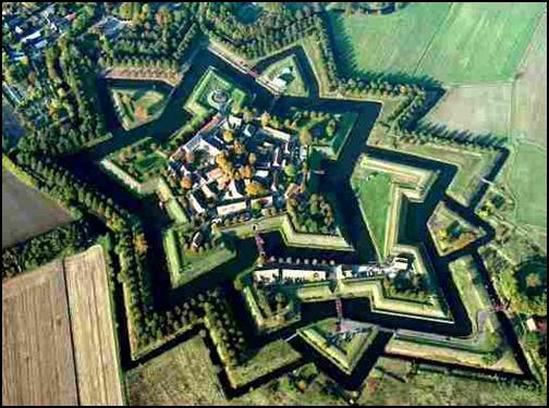 稜堡式城郭の画像