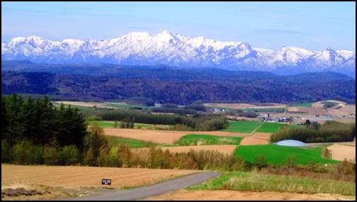 大雪山連峰の画像