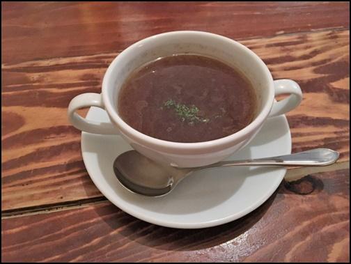 オニオンスープの画像
