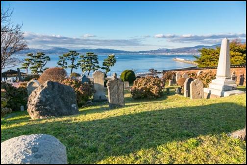 函館外国人墓地の画像