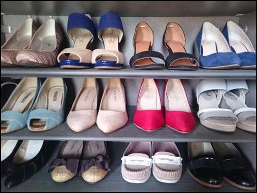 パンプスや靴の画像