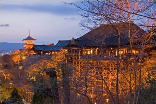 12月の清水寺の画像