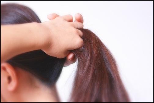 髪型の画像