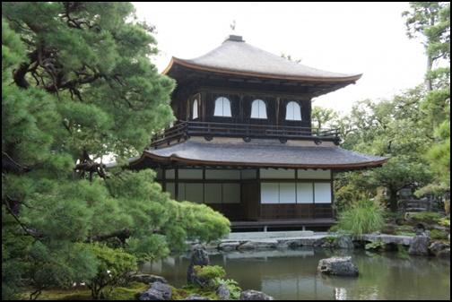 銀閣寺の画像